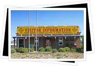 Visitors information office in Mexico